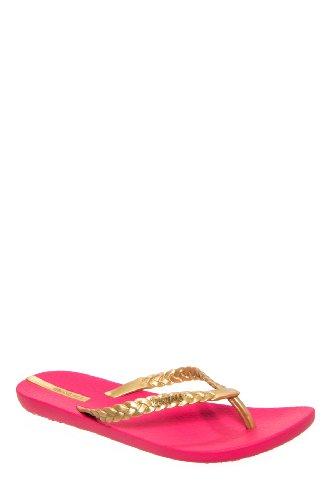 Ipanema Neo Heidi Flip Flop Sandal - Pink Gold