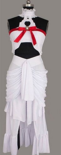 Vicwin-One Sword Art Online Alfheim Online ALO Yuuki Asuna White Dress Costume Outfit