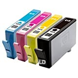 HP 564 Inkjet Cartridges, Set of 4 (Black, Cyan, Magenta and Yellow)