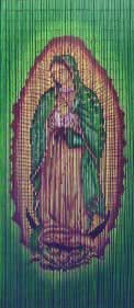 Virgin Mary Beaded Curtain 125 Strands Hanging Hardware Home Kitchen