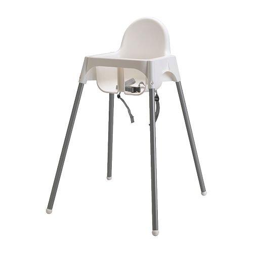 ANTILOP ハイチェア 安全ベルト付 / ホワイト IKEA イケア
