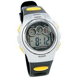 New Mitaki-Japan Mens Digital Sport Watch Date Function Stopwatch 30 Meters Waterproof White Box