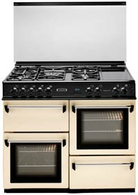 100cm Gas Range Cooker Black (CM101NRKP_BK)