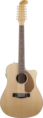 Fender Villager 12-String Acoustic-Electric Guitar - Natural