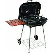 Kay Home Products 18623DI Portable Charcoal Smoker Grill