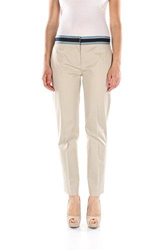 Pantaloni Prada Donna Cotone Beige, Blu Aviazione e Blu P2990ILAVANDAAVIOBL Beige 40EU