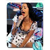 brunettes women katy perry cleavage live x wallpaper Wallpaper mouse pad computer mousepad