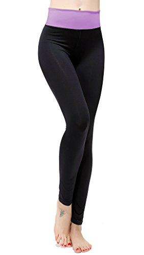 lotus-instyle-womens-fold-over-waistband-yoga-pants-purple-s