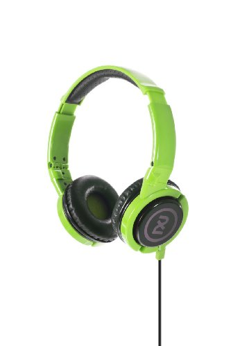 2Xl Phase Dj Headphone With Articulating Ear-Cups X6Ftfz-823 (Green)