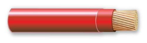1000' 10 Gauge Red Thhn Thwn-2 Copper Wire Conductor Heat Moisture Gasoline Resistant