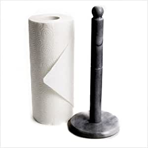 Amazon Com Fox Run Black Marble Paper Towel Holder Paper