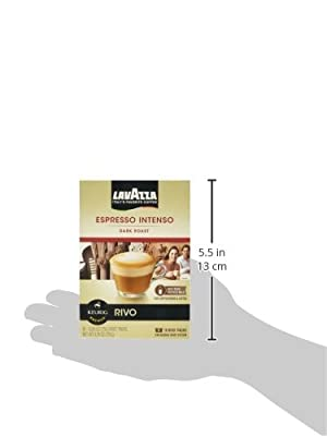Lavazza Intenso, Espresso 18 Packs of .26oz for Keurig Rivo Systems from Keurig