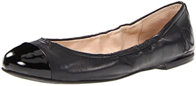 Sam Edelman Women's Baxton2 Flat,Black leather,9.5 M US