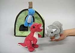 Dino Finger Puppet Play House 8 by Unipak