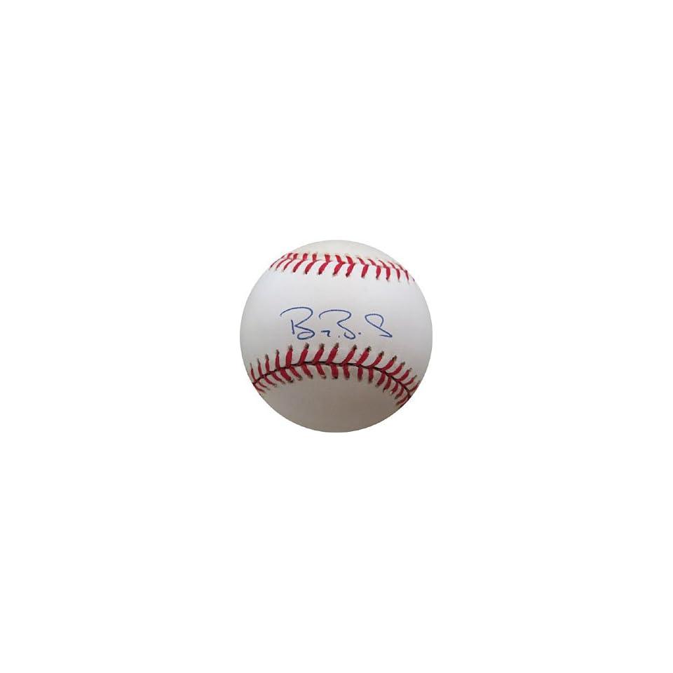 Barry Bonds Autographed/Signed Baseball (JSA)