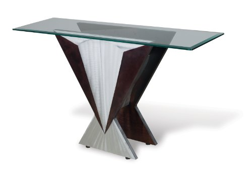 Cheap Nova Lighting CST9RB Aluminum Wedge Contemporary The Wedge Console Table From The Wedge Collection C (CST9RB)