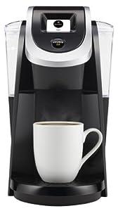 Keurig Green Mountain 117414 K250 2.0 Coffee Brewer, Black, 1 & 4-Cup