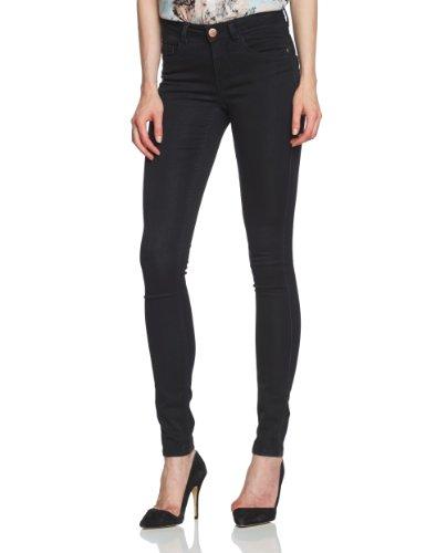 Only - Jeans slim fit, donna Nero (Schwarz (Black Denim)) M