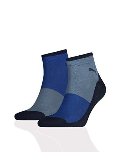 PUMA Pack x 6 Calcetines Rio Azul / Gris