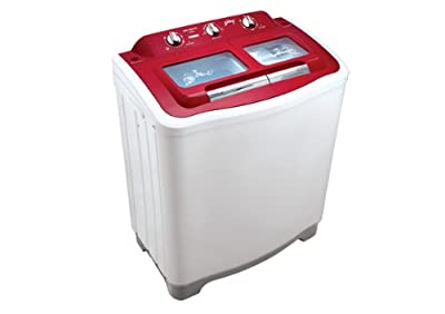 Godrej GWS7002PPC Semi-Automatic Top-loading Washing Machine (7 Kg, Red)