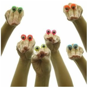 Finger Spies (Colors May Vary)