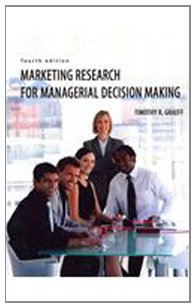 Marketing Research for Managerial Decision Making