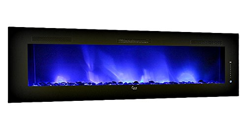 LED Electric Fireplace Wall Mountable 45