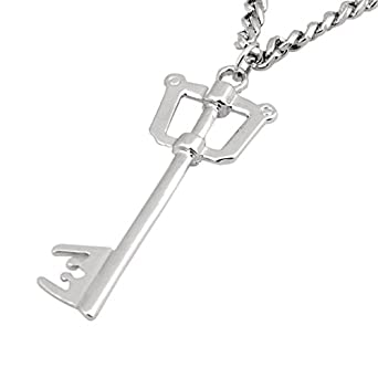 Kingdom Hearts II Sora Key Blade Necklace Anime Cosplay Figure Pendant (1)