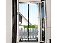 Infactory - Mosquitera para puertas (con cierre automático y 18 imanes)