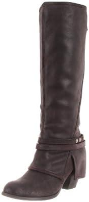 Fergie Women's Latitude Too Boot,Black,5.5 M US