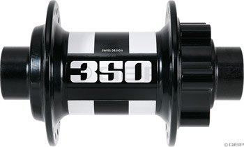 DT Swiss 350 Nabe VR 110mm/20mm IS schwarz 2016 Naben für Fahrrad
