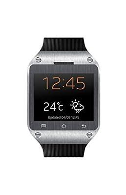 Spice Dual-SIM Smart Pulse Smartwatch (Black)