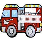Fun Time Shape Medium Pile Fire Engine 25x39 Play Time Nylon Area Rug QLTS-116 2539