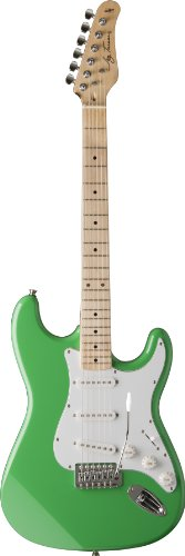 Jay Turser Jt-300M-Sfg Electric Guitar Screamin' Funk Green