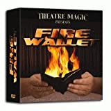 Fire Wallet 2 (inc Card To Wallet) by Theatre Magic - Trick