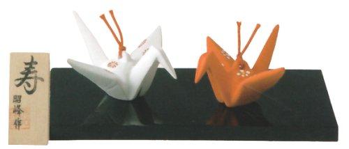 寿(紅白折鶴)