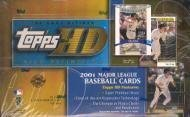 2001-topps-hd-high-definition-baseball-cards-unopened-hobby-box