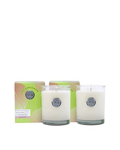 The Soi Co. Set of 2 Luxe Box Moisturizing 13.5-Oz. Candles, Macaroon