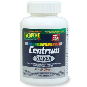 Centrum Silver Multivitamin/Multimineral for Adults 50+, Tablets