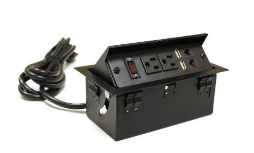 Pop Up Power Amp Data Center In Desk Discount Kutun11043