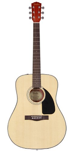 Fender Acoustic Guitar CD-60 - Natural - Dreadnought - With Case