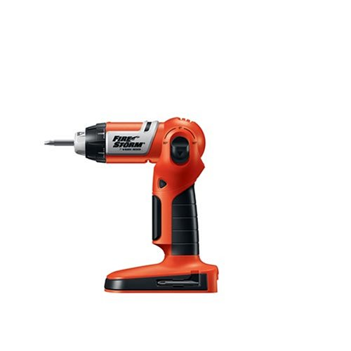 Fire Storm By Black & Decker 18 Volt Pivoting Right Angle Drill/Driver