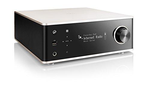 DENON デノン プリメインアンプ ネットワークオーディオ DSD ハイレゾ音源 Bluetooth Airplay対応 プレミアムシルバー DRA-100SP
