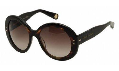 Marc Jacobs Mj430/S Sunglasses-038W Black/Havana (Ha Brown Gradient Lens)-55Mm