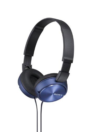 Sony Foldable Headphones - Metallic Blue