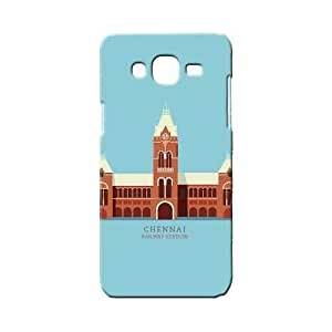 BLUEDIO Designer 3D Printed Back case cover for Samsung Galaxy ON7 - G4498