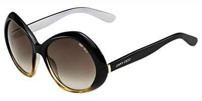 Jimmy Choo JIMMY CHOO Sunglasses ANGY/S 02OX Black Nude 57MM