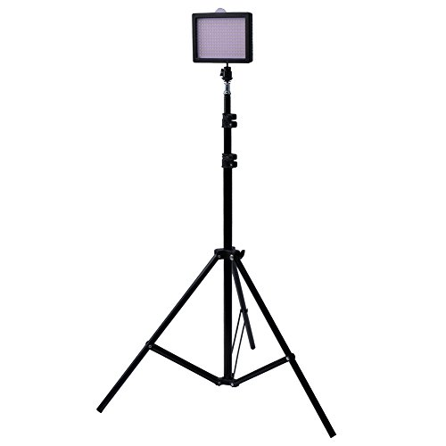 "Bestlight® Photography 216 Led Studio Lighting Kit, Including (1)W216 Dimmable Ultra High Power Panel Digital Camera Dslr Camcorder Led Video Light (1)75""/190Cm Tall Studio Photography Light Stand"
