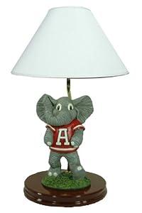 NCAA Alabama Crimson Tide Painted Mascot Lamp by Oxbay