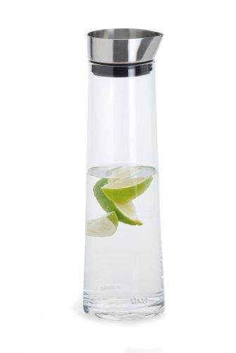 Blomus 63436 Acqua Wasserkaraffe 1 Liter mit Edelstahlausgießer